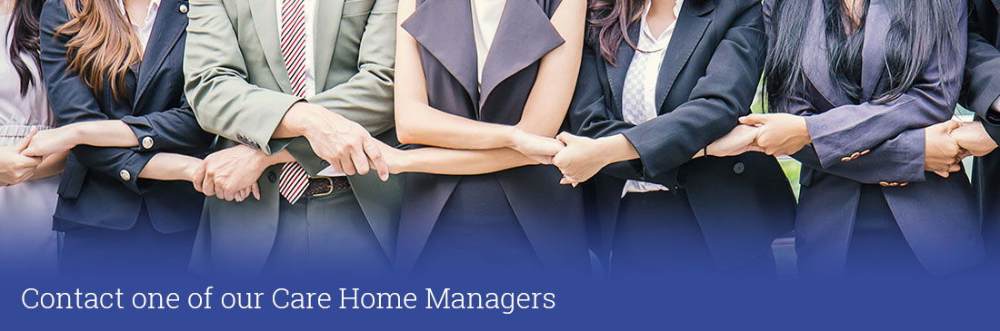 Contact a care home manager